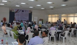 "NECC participated in an invitation to Launch Event of ""Supporting Adult Education Centers in Palestine"" Project"